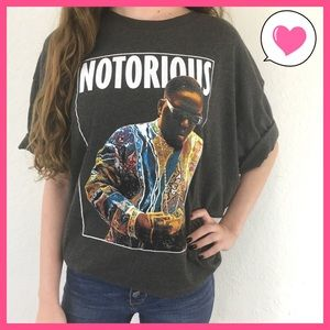 Tops - Notorious B.I.G. Graphic band tee t-shirt XXL
